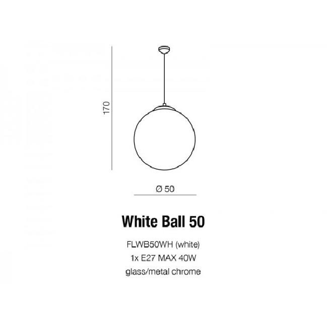 WHITE BALL 50